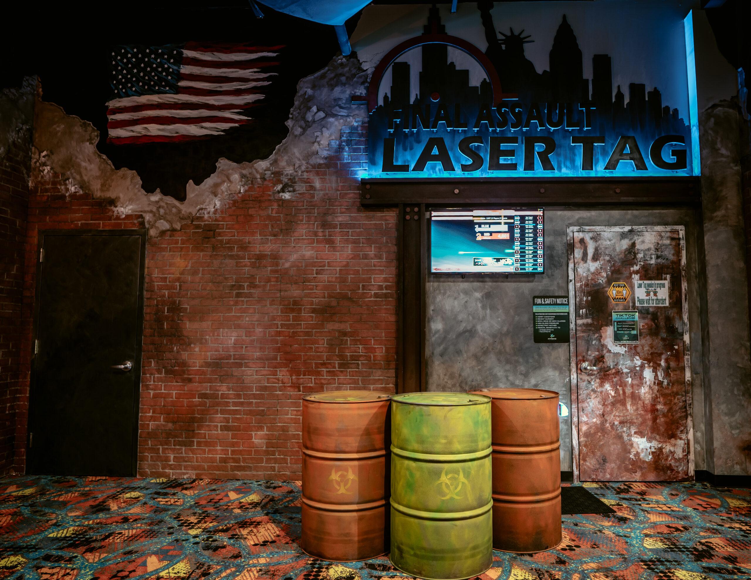 Laser Tag Entrance